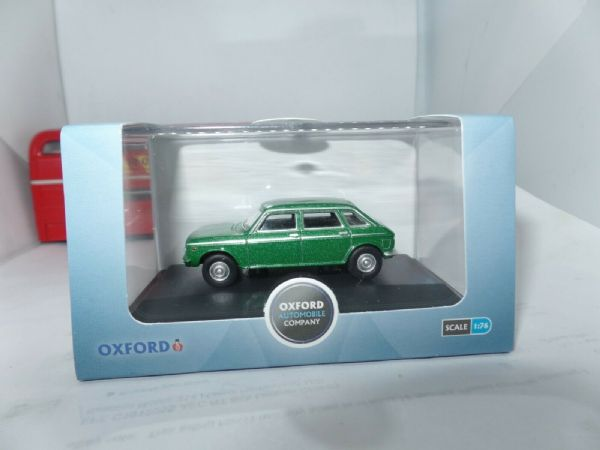 Oxford 76MX001 MX001 1/76 OO Scale BLMC Austin Maxi 1750TC Tara Green